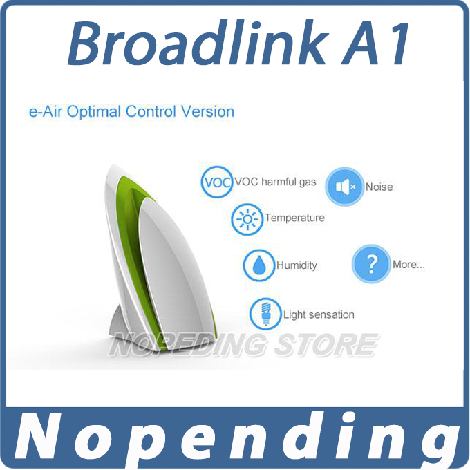 NEW Broadlink A1 E-air Smart Air Quatily Detector Testing Air Humidity PM2.5 Intelligent Home Systems by WIFI/Infrared,away home<br><br>Aliexpress
