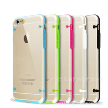 Luminous Ultra Thin Transparent Clear Fluorescence Case Cover for iPhone 4 5 6 s Plus for Samsung Galaxy S3 S4 S5 S6 edge Note 2(China (Mainland))