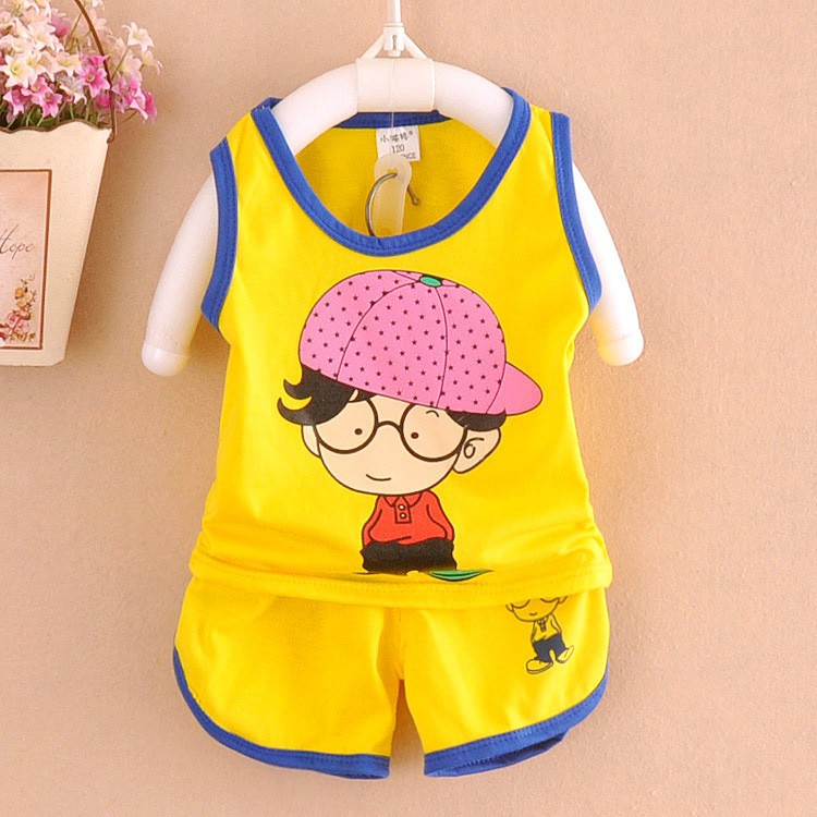 Baby Boy Cartoon Suit