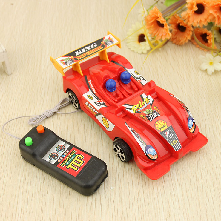 Wire 4x4 cool automobile race electric remote control car yiwu night market toy(China (Mainland))