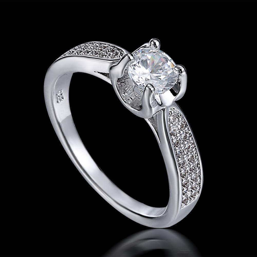 Einzigartiger Diamant-Hochzeits-Bänder