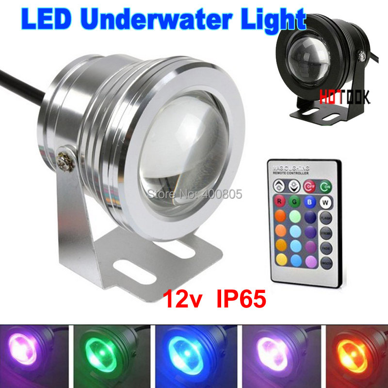 10W 12v LED Floodlight underwater RGB Led light Waterproof IP65 Outdoor Lighting Fountain Focos led piscina Lamp Lights16 color(China (Mainland))