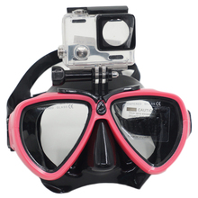 Ebuy360 2016 New GOPRO Diving Glasses Small Ant Anti Fog Glasses Dive Snorkelling Scube Diving Mask(China (Mainland))