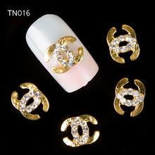 Wholesale 2014 New 10 pcs Alloy Stones Crystal Rhinestone For 3D Nails Art Tools Decorations Glitters DIY TN016