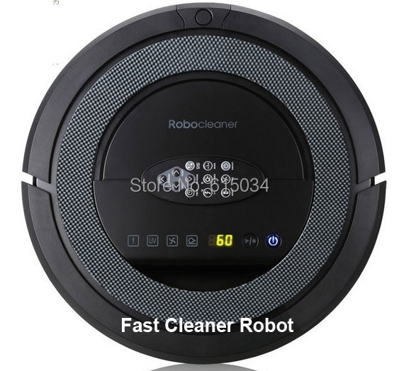 (Free To Singapore) New Coming Robot Vacuum Cleaner with Sonic-Wall,Remote controller, 2 Side brush(China (Mainland))