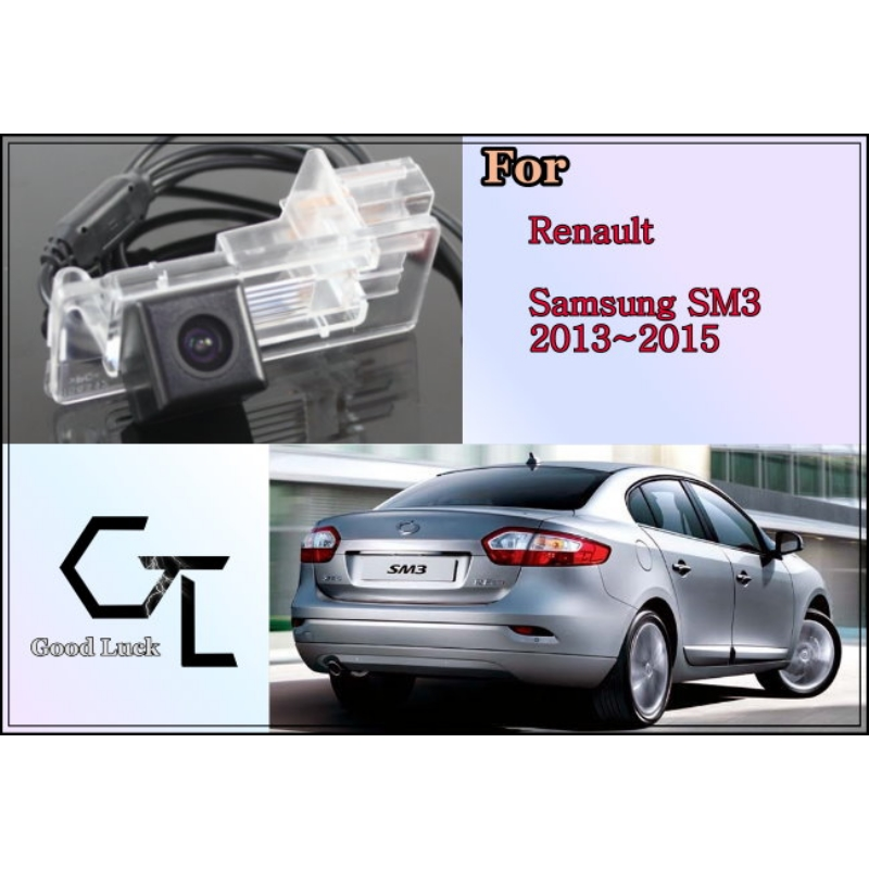 For Renault Samsung SM3 2013 ~ 2015 wireless Car Reverse Backup CCD HD Night Vision Parking Assistance Rear View Camera(China (Mainland))