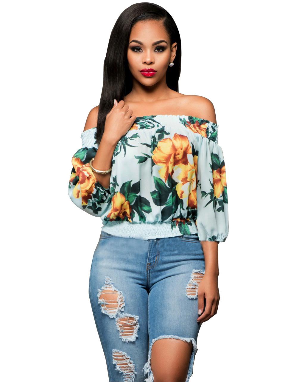 wrap chemises blouses promotion achetez des wrap chemises. Black Bedroom Furniture Sets. Home Design Ideas