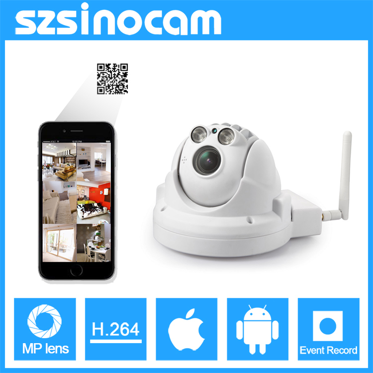 SINOCAM Wireless 1.3 MP 960P Pan/Tilt Indoor IP Dome Camera for Office and Home Surveillance(China (Mainland))