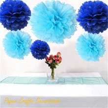 Buy 34 Colors 16inch, 40cm Hanging Wedding Round Tissue Paper Pom Poms Flower Balls Garlands Baby Shower Birthday Party Decorations for $2.05 in AliExpress store