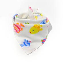 Детские нагрудники, хлопковый фартук для кормления, треугольные милые детские нагрудники для девочек и мальчиков, шарф для кормления с геро...(China)