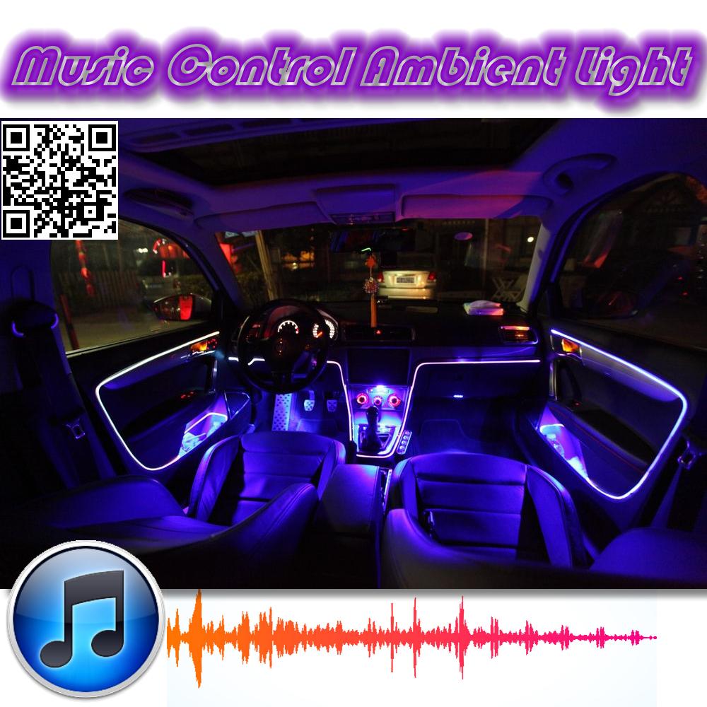 ambient rhythm light for daewoo matiz fso formosa tuning interior music sound light diy car. Black Bedroom Furniture Sets. Home Design Ideas