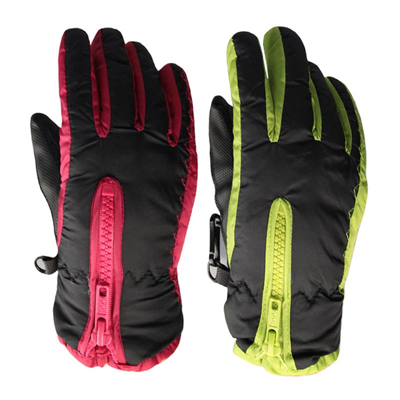 Winter Kids Snowboard Gloves Cotton Breathable Children Ski Gloves Outdoor Sports Windproof Unisex Gloves(China (Mainland))