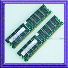 Hynix 2GB 2x1GB PC3200 DDR400 400MHz 184Pin DIMM Desktop Low Density MEMORY 1G RAM(China (Mainland))