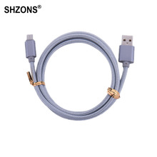 Buy 1m Type-C USB Charging Cable USB 2.0 Snyc Data Fast Charger Cable Nokia N1,Xiaomi 4C,Nexus 5X,6P,OnePlus 2,ZUK Z1,MX5 Pro for $1.18 in AliExpress store
