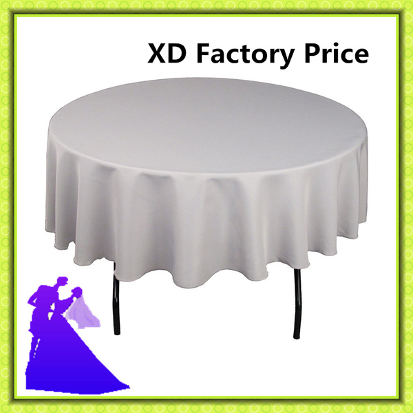 "2015 new style 90"" round table cloth for polyester and plain for reataurant table , home table(China (Mainland))"