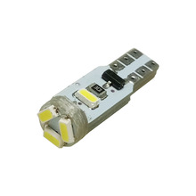 Buy 10pcs T5 5 LED 3014 Wedge SMD Car Auto Lamp Dashboard Gauge White Lights Instrument Warning Indicator Signal Bulbs for $2.91 in AliExpress store