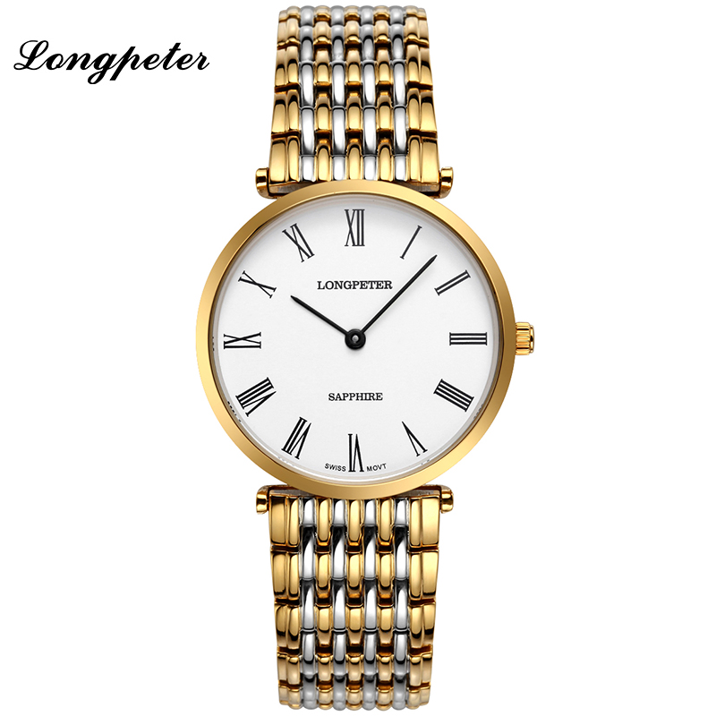 longpeter business original watches vogue stainless