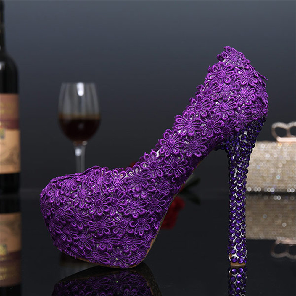 Buy Purple Heels