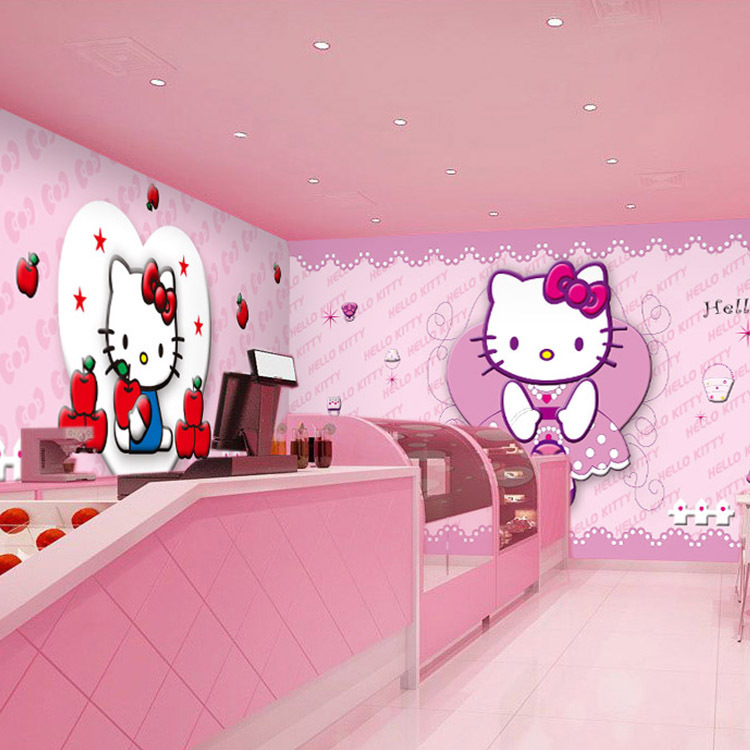 Hello kitty bedroom wallpaper gallery for Hello kitty bedroom design