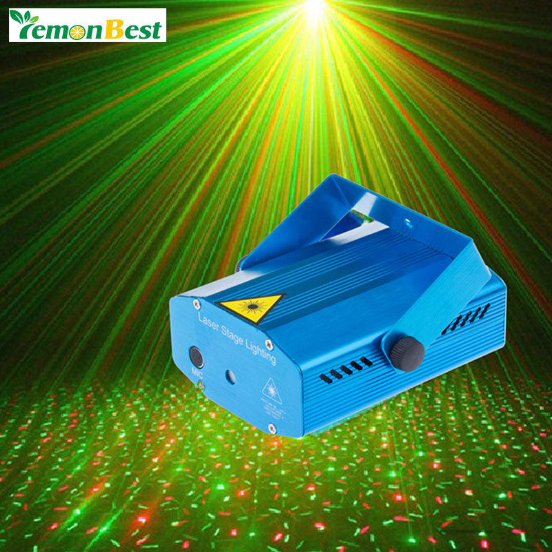 Portable multi LED bulb All strat music Laser Stage Lights Lighting Adjustment DJ Party Home Wedding Club Projector(China (Mainland))