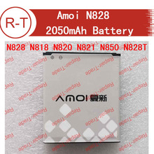 Amoi N828 Battery Original High Quality 2050mAh NO.14 Battery Replacement for Amoi N828 N818 N820 N821 N850 N828T Smart Phone