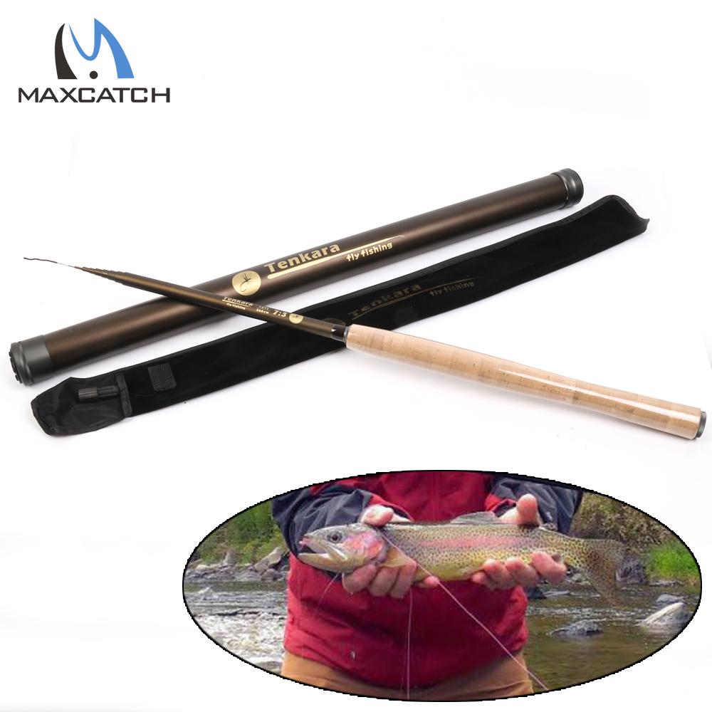 Tenkara Fly Fishing Rod 12FT 7:3 ACTION 9 Segments Super Light Traditional  Tenkara Fly Rod(China (Mainland))