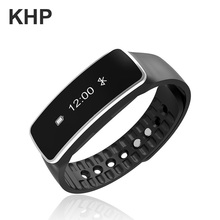 2016 Original KHP Brand Smart Wristband For iPhone IOS Android With Pedometer Clock Phone Remind IP67 Band Fitness Bracelet(China (Mainland))