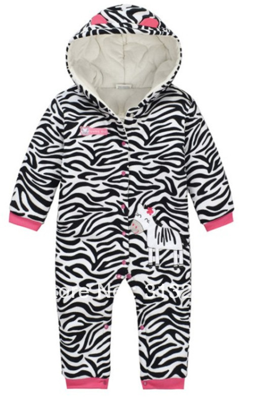 Здесь продается  FR-9, Zebra, 5sets/lot (6-24M), Baby romper, stripe poly fleece thick long sleeve hooded romper, snap button.  Детские товары