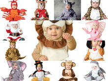 Baby Rompers Animals 3-24 M Flannel Long Sleeves Baby Costume Clothing Clothes