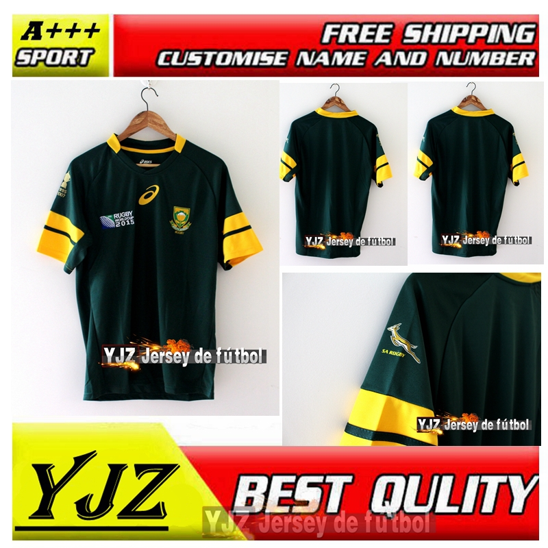 South Africa Rugby Kit 2015 South Africa Rugby Jersey
