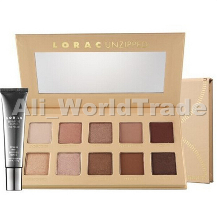 NEW ARRIVAL Makeup Lorac Unzipped 10 colors Eyeshadow Palette With Eye Primer 36pcs/lots Free DHL Shipping<br><br>Aliexpress