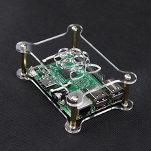 Buy Latest Raspberry Pi Acrylic Case Plate Transparent Enclosure Shell Box Logo Compatible Raspberry Pi 3/2 for $3.05 in AliExpress store