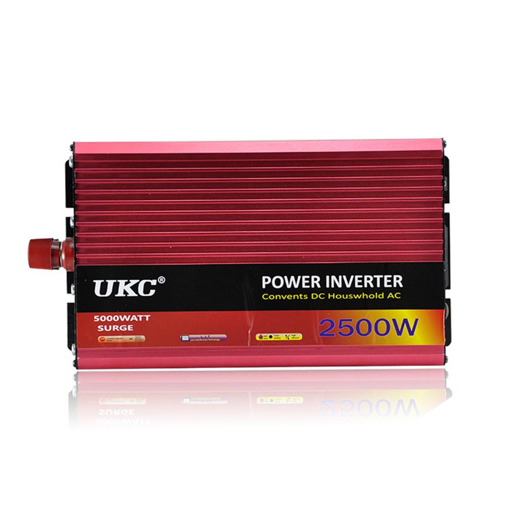 Car inverter 2500W Car Vehicle Truck USB DC 24V to AC 220V Power Inverter Adapter Converter 24 V to 220 V CY553-CN(China (Mainland))