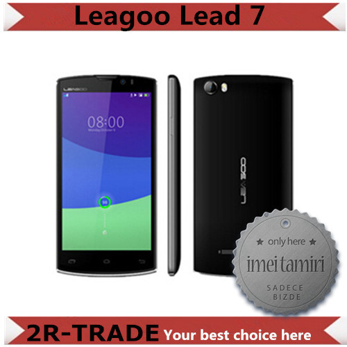 Original Leagoo Lead 7 MTK6582 Quad Core Android 4.4 5.0 inch HD IPS 1GB RAM 8GB ROM 13MP Camera 4500mAh Battery WCDMA Cell Phones - 2R-TRADE store