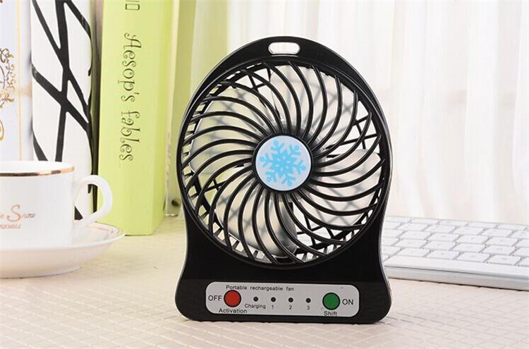 02 Cool Portable Fan Battery : Mini portable usb rechargeable fan speed adjustable