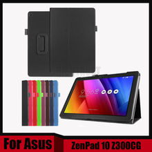 3 in 1 New Litchi PU Leather Case Stand Slim Cover For ASUS Zenpad 10 Z300C Z300CL Z300CG 10.1″ Tablet PC + Stylus + Screen Film