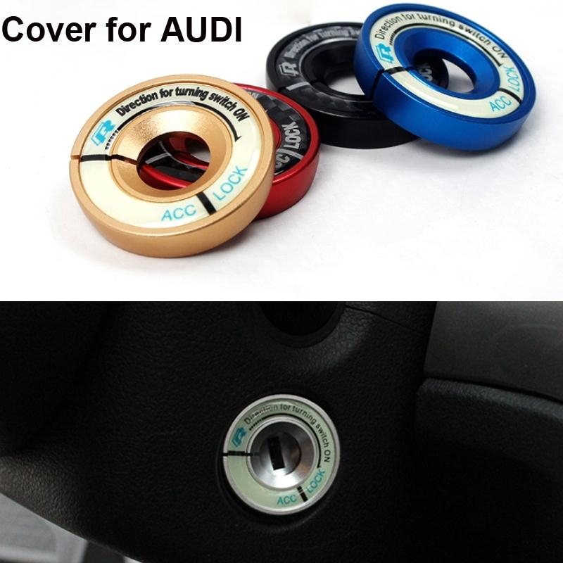 Luminous Ignition Switch Cover For Audi A1/A3/A4/A6/TT/TTS