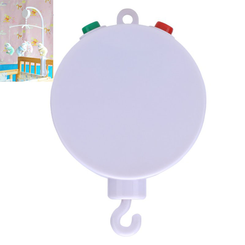 Hot 12 Melodies Song Kids Cradle Mobile Baby Toys Baby Crib Bell Bed Electric Autorotation Music Box brinquedos infantis SLYP(China (Mainland))