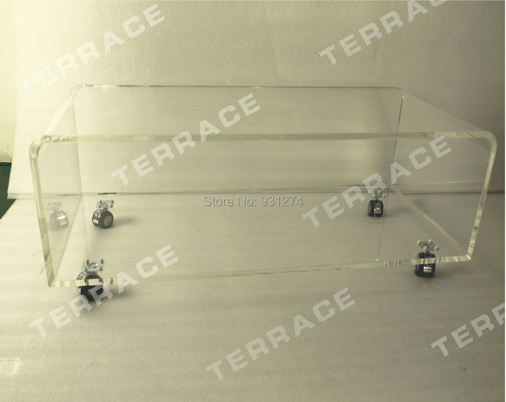 Table Tv Plexi Roulette Fenrez Com Sammlung Von Design  # Modele De Table Television