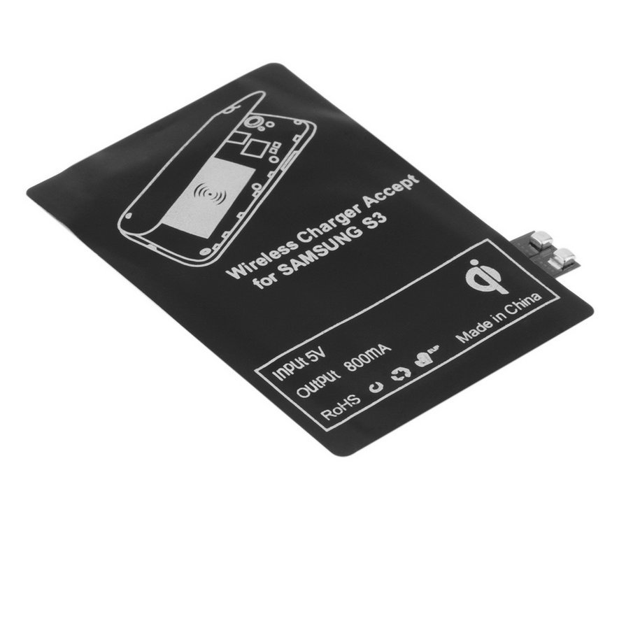 New hot selling Qi Wireless Charger Charging Receiver Module Adapter for Samsung Galaxy S3 i9300 Free shipping