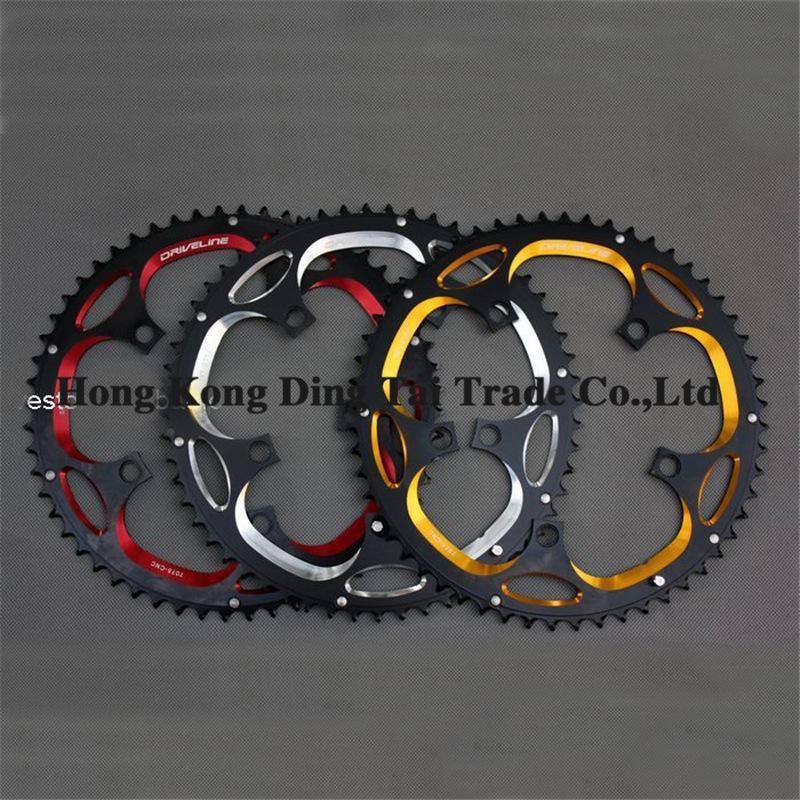Brand New Bike Chainwheels Aluminum Alloy 56T Road Bikes Chaining Crankset High Quality Bicycle Parts D12<br><br>Aliexpress