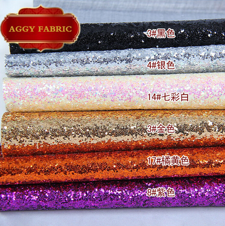 Faux PU Glitter Leather Sequin Fabric ,Synthetic Leather for Decorative Wall, Artificial Leather for sewing material, Wholesale(China (Mainland))