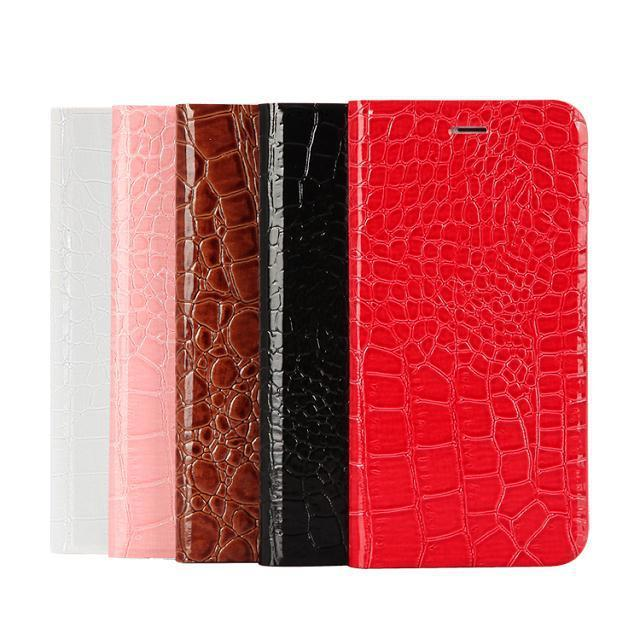 "Ladies Wallet Flip Cover Card Holder Crocodile Case for iPhone 6 Plus 5.5"" + 1pcs of Screen Protector + Stylus pen(China (Mainland))"