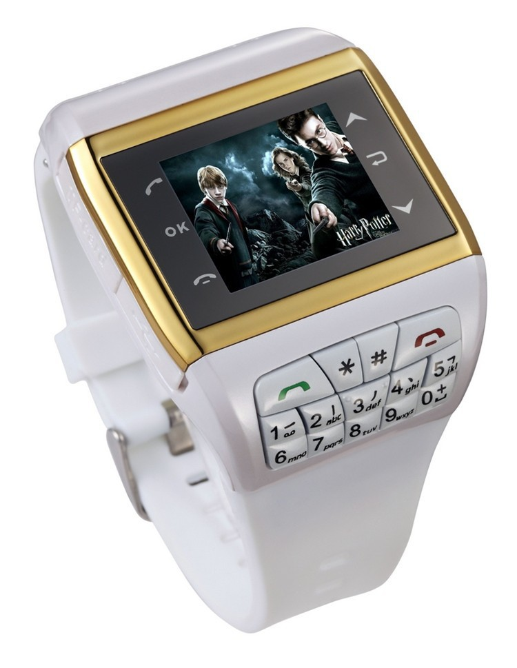 2015 Q7 Harry Potter GSM smart watch mobile phone Dual sim camera touch screen keyboard bluetooth MP3/MP4 unlocked watch phones(China (Mainland))