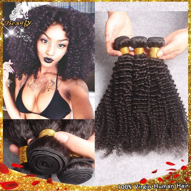 7A Brazilian Afro Kinky Curly Hair Weave 3pcs Lot,Cheap Afro Kinky Human Hair Extension,Kinky Curly Virgin Hair Bundles Free DHL