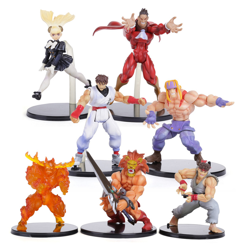 KOF The King Of Fighters PVC Action Figures Collectible Toys 7pcs/set SFFG019<br><br>Aliexpress