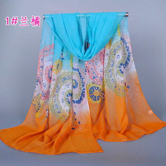 new Fashion Womens Chiffon Velvet Scarves Geometric Animals Scarves Cats Solemn Elegant Wholesale(China (Mainland))
