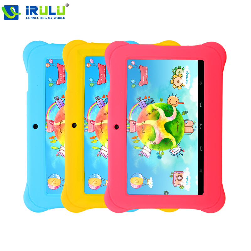 "iRULU Baby Pad Y1 7"" Tablet PC Quad Core Android 4.4 1GB/8GB ROM Kids Education Free Game Learn Grow Play With Case Gift(China (Mainland))"
