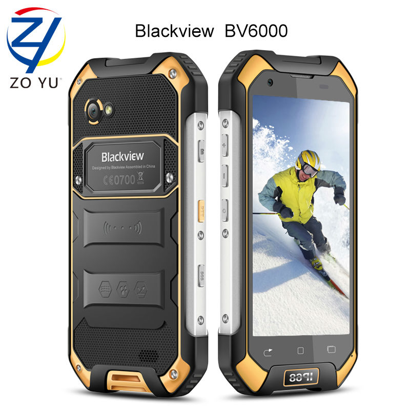 Blackview 4G smartphone IP68 waterProof mobile phone MTK6755 Octa Core Cell phone 4.7 inch HD 13.0MP android 6.0 senior phone(China (Mainland))