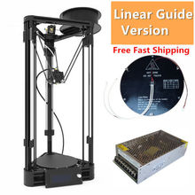 High Precision Upgraded Kossel Mini Linear Delta 3D font b Printer b font Auto level Rostock